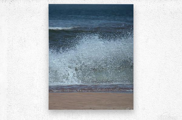 Prince Edward Island beach  Metal print