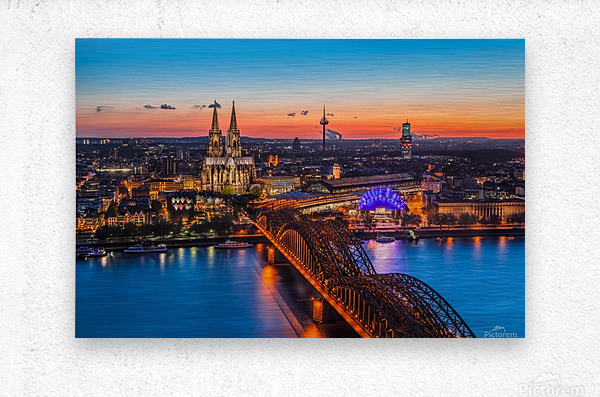 COLOGNE 03  Metal print