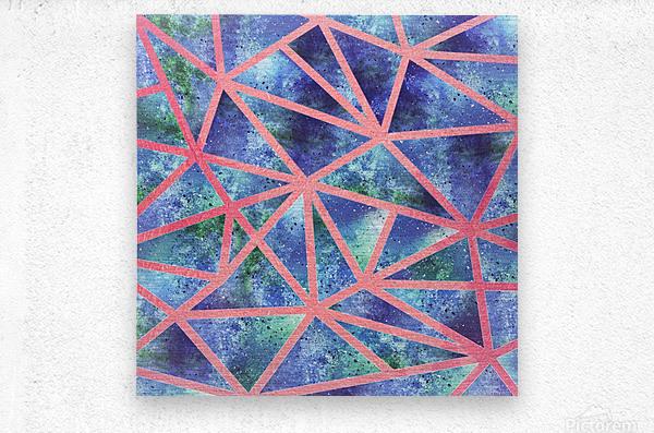 Geometric XXXIII  Metal print