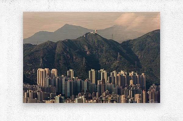 HONG KONG 06  Metal print