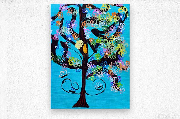 Free Spirit Tree. Molly H  Metal print