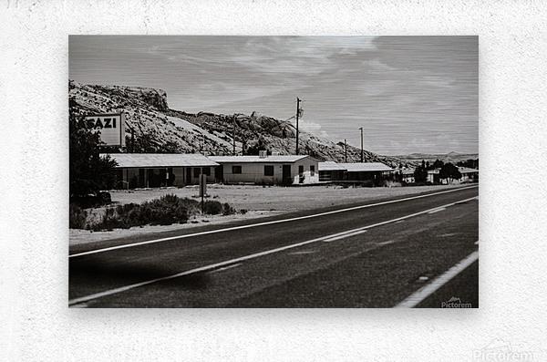 Old Motel  Impression metal