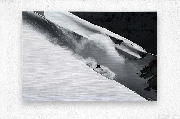 Cloud of Snow  Metal print