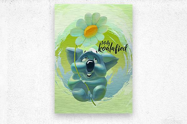 Cute Koala  Metal print