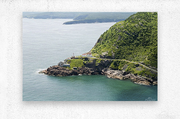 Johns Harbour from Signal Hill 2  Metal print