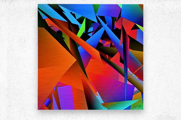 Dimensions -  bY Neil Gairn Adams   Metal print