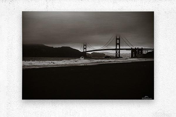 B&W Golden Gate  Impression metal