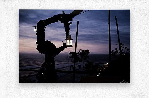 Lanterne de Lima  Metal print