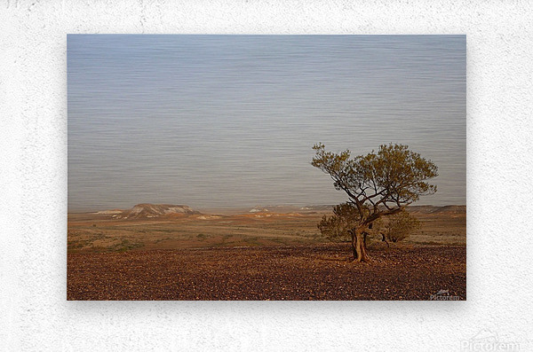 The breakaways South Australia  Metal print