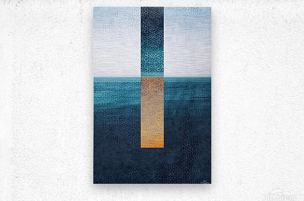 Modern Art I  Metal print
