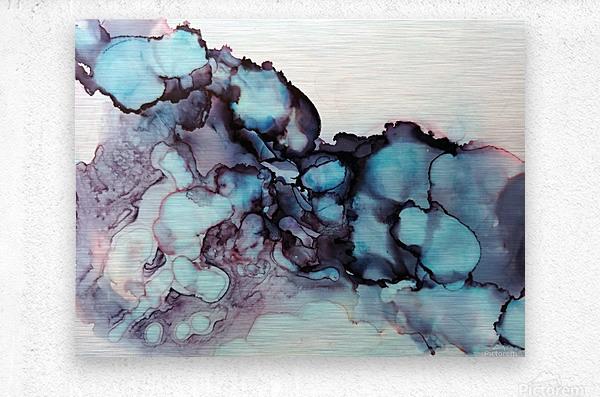 Turquoise Dream  Metal print