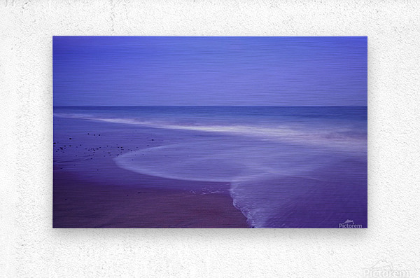 C 636 Ballybrannigan Beach  Metal print