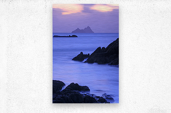 KY 281 Ballinskelligs Bay   Metal print