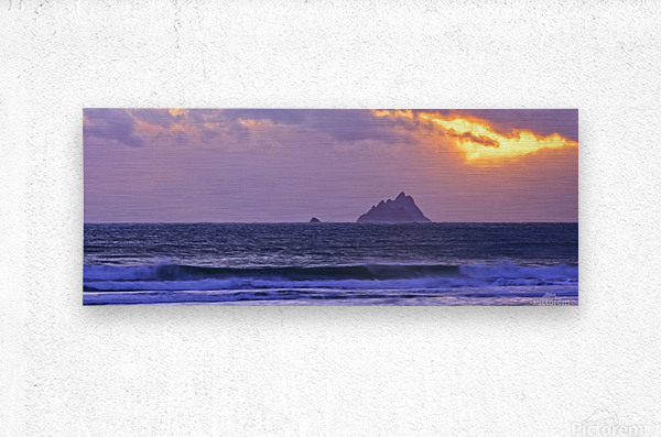 KY 280 Ballinskelligs Bay   Metal print