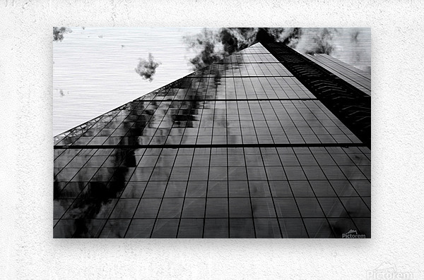 The Skyscraper  Metal print