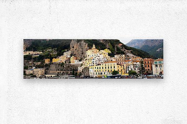 Amalfi Coast Super Panoramic   Metal print