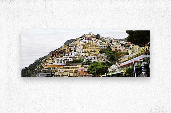 Italy Landscape - Positano  Metal print
