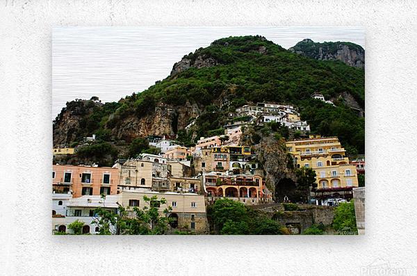 Landscape - Beautiful Village - Italy  Metal print