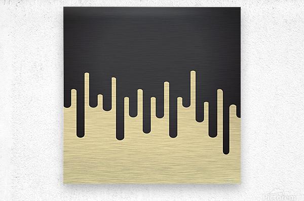 Vanilla Melting Tone  Metal print