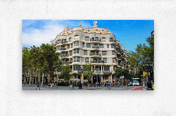 Spain Landscape - Casa Battlo    Metal print
