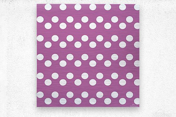 Bodacious Polka Dots  Metal print