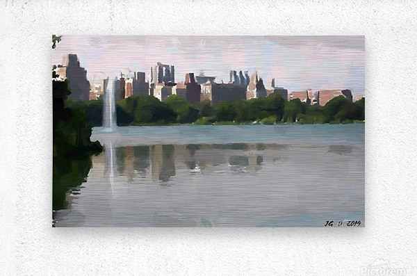 NY_CENTRAL PARK_View 061  Metal print
