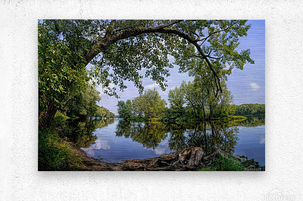 Calming Waters  Metal print