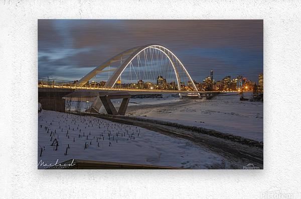 Walterdale_Bridge_NIK9890  Metal print