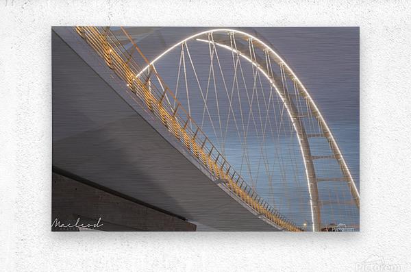 Walterdale_Bridge_NIK9887  Metal print