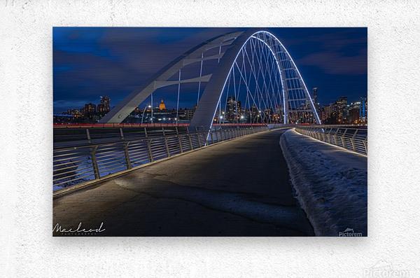 Walterdale_Bridge_NIK9895  Metal print