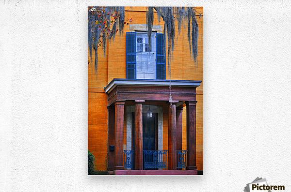 Savannah Porch  Metal print