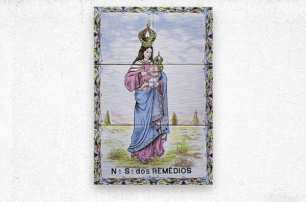 Los Remedios  Metal print