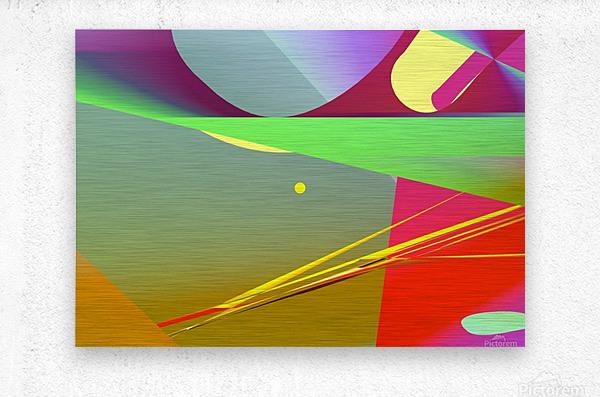 full moon 043d219  Metal print