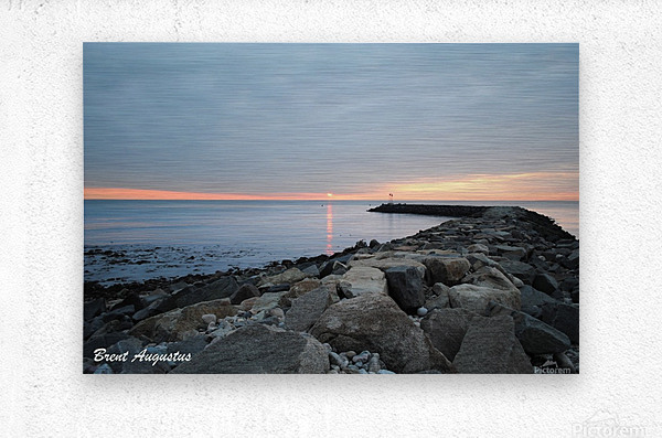New England Sunrise  Metal print