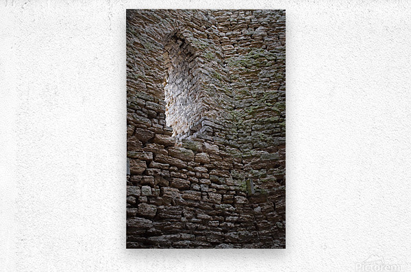 Castle Wall  Metal print