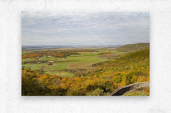 View of Ottawa Valley in Autumn 9  Metal print