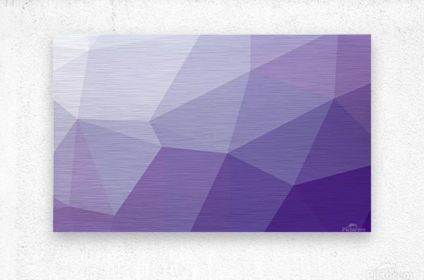 patterns polygon 3D (44)_1557106654.03  Metal print