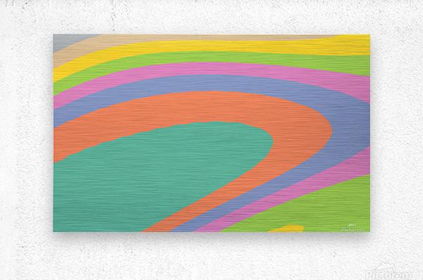 New Popular Beautiful Patterns Cool Design Best Abstract Art (18)  Metal print