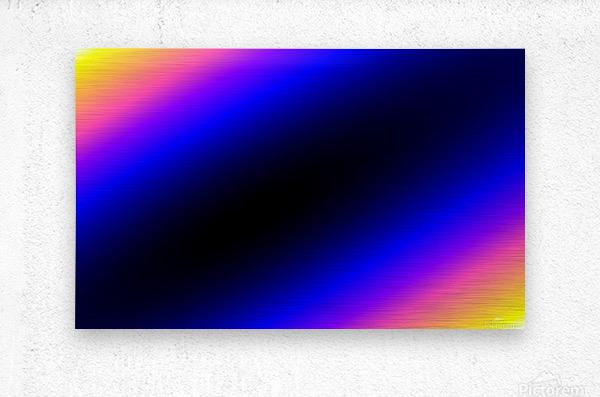 New Popular Beautiful Patterns Cool Design Best Abstract Art (5)  Metal print