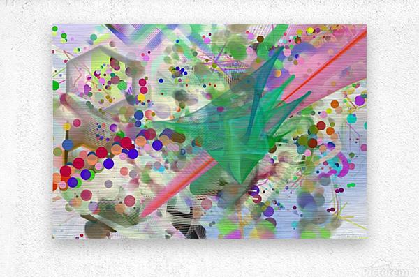 New Popular Beautiful Patterns Cool Design Best Abstract Art (6)  Metal print