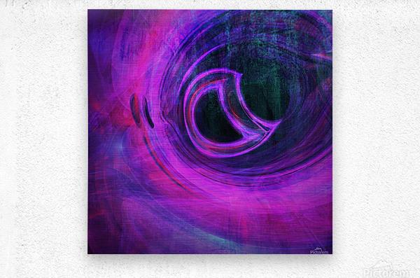 Abstract rendered artwork 4  Metal print
