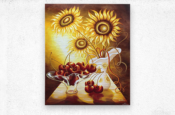 You are so sweet  Metal print