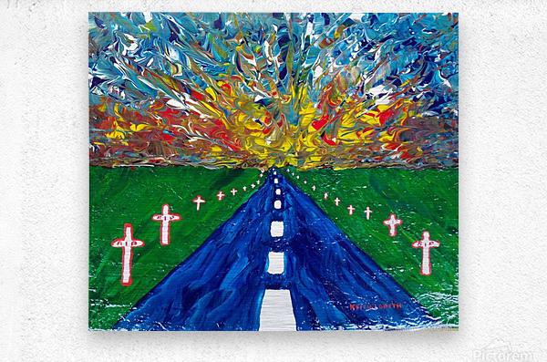 Highway to Hell  Metal print