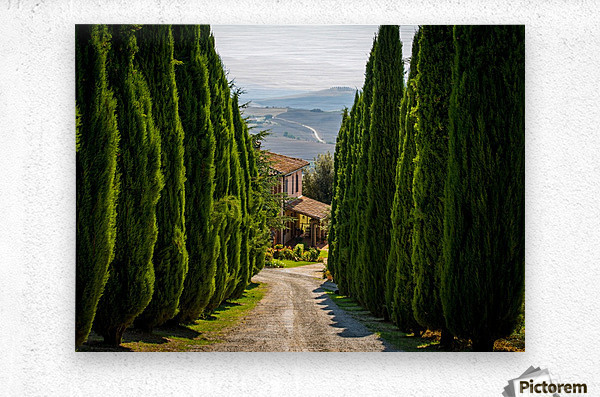 Tuscany House  Metal print