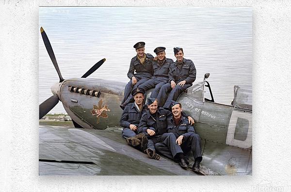 416 Squadron RCAF  Metal print