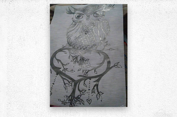 received_615188938860662  Metal print