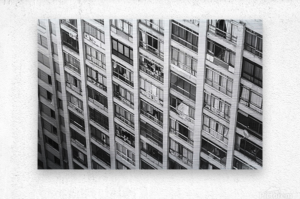 Sao Paulo Downtown  Metal print