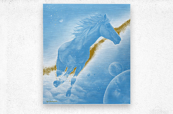 Celestial Horse  Metal print