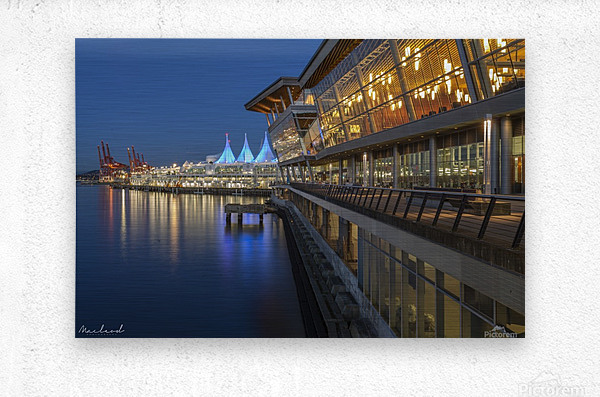 Vancouver Convention Ctr_DSC3889  Metal print