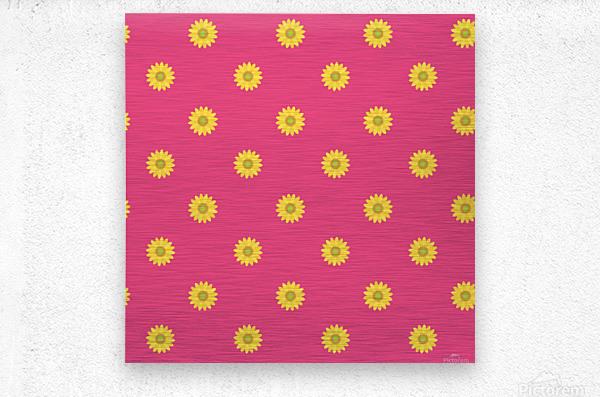 Sunflower (33)_1559875863.009  Metal print